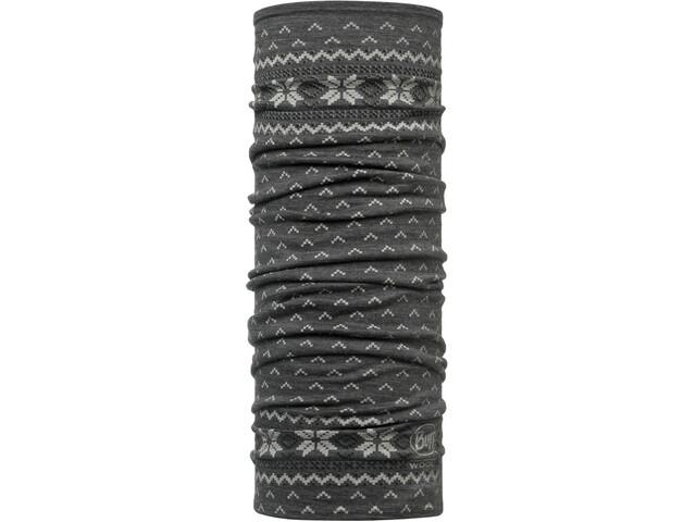 Buff Lightweight Merino Wool Scaldacollo tubolare, grigio